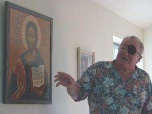St Aidans- Geoff's Icon Presentation CU