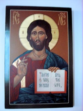 St aidans - Icon - Christ the Teacher