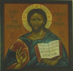 St Aidans- Icon Lord of the Universe