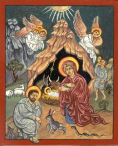 St Aidans- Icon Nativity