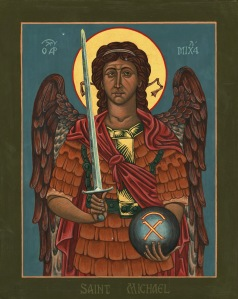 St aidans - Icon Saint_Michael