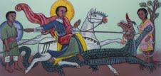 St aidans- Icon St George