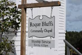 roque bluffs chapel